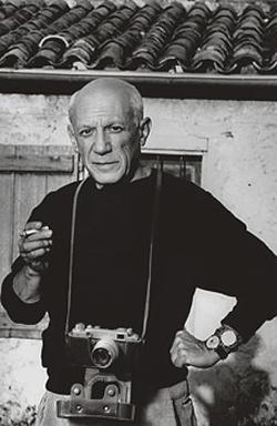 Пабло Пикассо снимал камерой ФЭД-2